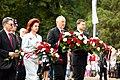 V. Dombrovskis piedalās Latvijas neatkarības de facto atjaunošanas 20. gadadienas pasākumos (6065414155).jpg