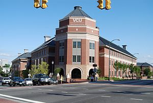 "Virginia Commonwealth University - The da Vinci Center ""Octagon"", Monroe Park campus"