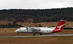 VH-TQE landing at Canberra Airport in February 2018.jpg