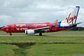 VH-VBO 'Tropical Temptress' Boeing737-76N Virgin Blue (8710150662).jpg