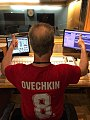 VOA radio technician wearing Ovechkin jersey in celebration of Stanley Cup victory 3469962.jpg