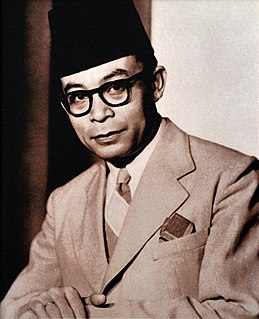 Mohammad Hatta first Vice President of the Republic of Indonesia