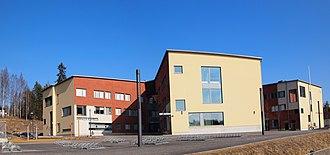 Vaajakoski - Image: Vaajakosken koulu 3