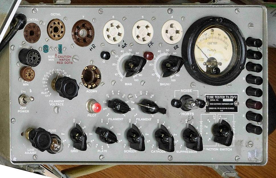 VacuumTubeTester TV-7D 4