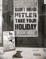 Vakantie boeken ondanks oorlogsdreiging - Don't mind Hitler- take your holiday (4795487515).jpg