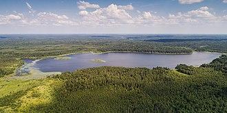 Valdai Hills - Valdai Hills at Lake Sitno
