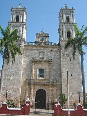Francisco de Montejo (the Nephew) - Church of San Gervasio in Valladolid, Yucatán.