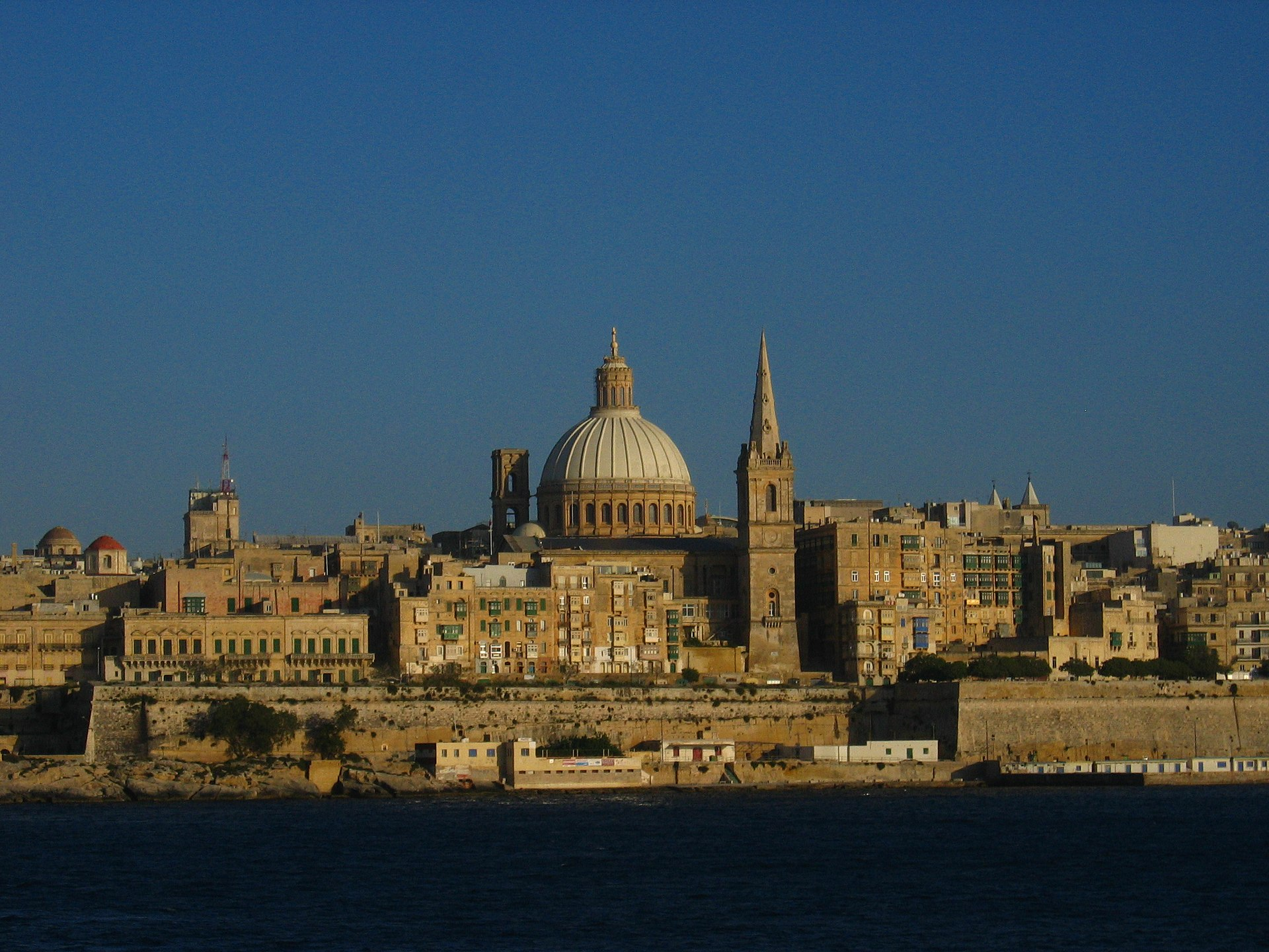 Valletta, Malta's historical capital city