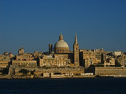 Skyline of Il-Belt Valletta