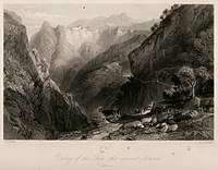 Valley of the Suli, the ancient Acheron - Walsh Robert & Allom Thomas - 1836.jpg