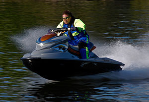 A derivative of a personal water craft