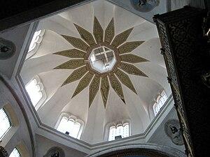 La Enseñanza Church - Vault of the dome