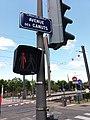 Vaulx-en-Velin - Avenue des Canuts, plaque.jpg