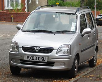 Opel Agila - For British buyers the Agila is badged as a Vauxhall