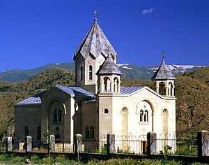 Vayk, St Trdat church of Vayk.jpg