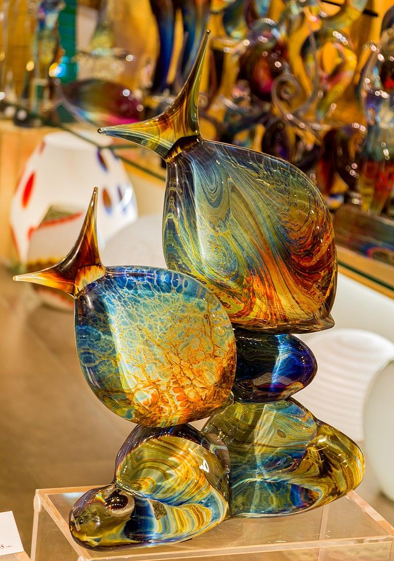 фото хрусталя и венецианское стекло потребляемых
