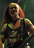 "Venom, Conrad ""Cronos"" Lant at Party.San Metal Open Air 2013 05.jpg"