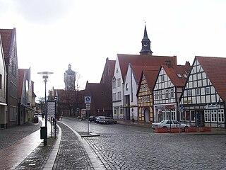 Verden an der Aller Place in Lower Saxony, Germany