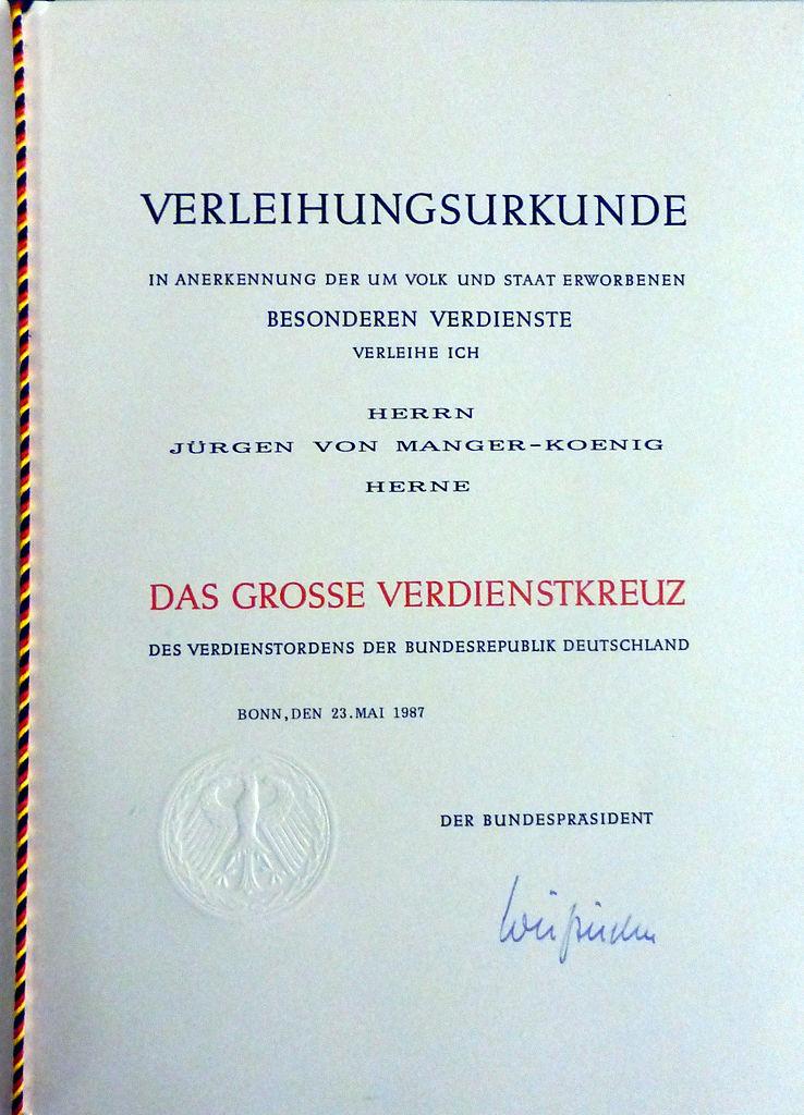 File:Verleihungsurkunde BVK Jürgen von Manger.jpg - Wikimedia Commons