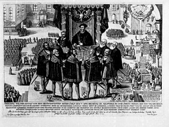 Augsburg Confession - Confessio Augustana, Augsburg 1530.