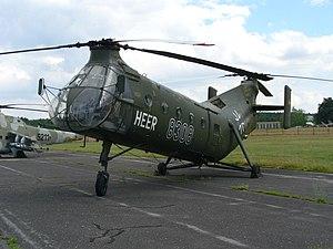 Piasecki H-21 - H-21C in German Army markings