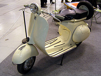 ACMA (Ateliers de construction de motocycles et d'automobiles) - Vespa 125cc, built under licence by ACMA
