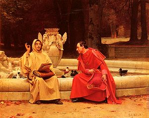 Jehan Georges Vibert - Image: Vibert Jehan Georges A Fine Point