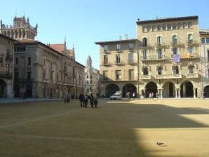 Plaça Major von Vic