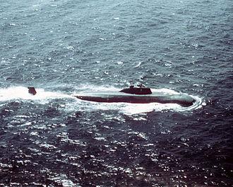 Victor-class submarine - Image: Victor I class submarine