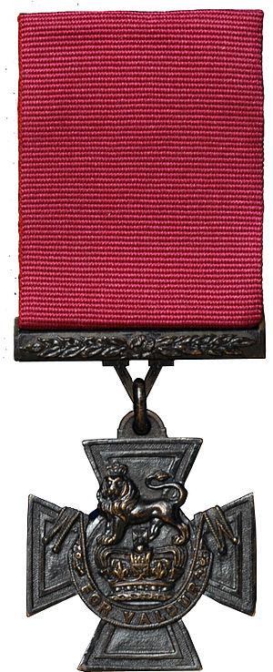 Phillip Davey - Image: Victoria Cross MOD 45147516