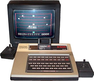 Magnavox Odyssey² - European models had no power button, and black action buttons