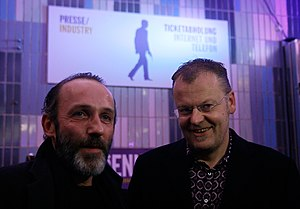 Stefan Ruzowitzky - Ruzowitzky with Karl Markovics at the Viennale, Vienna 2009