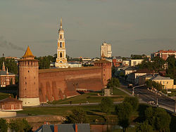 Remains of the Kolomna Kremlin.