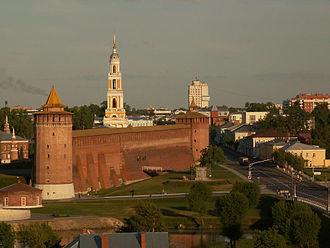 Kremlin (fortification) - Remains of the Kolomna Kremlin