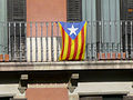 View from hotel room - blue estelada flag (2925458074).jpg