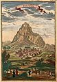 View of Erivan (and Noah's ark), Description de L'Universe (Alain Manesson Mallet, 1683).jpg