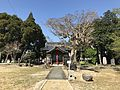 View of Haiden of Kumano Shrine near Shin-Tosu Station.jpg
