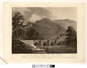 View of Llangollen Bridge