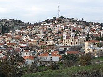 Pachna - Image: View of Pachna 15