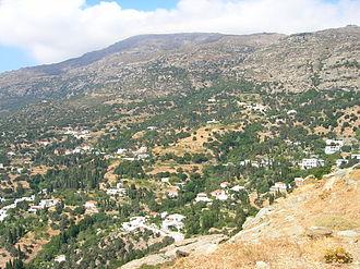 Palaiopoli, Andros - A view of Paleopolis