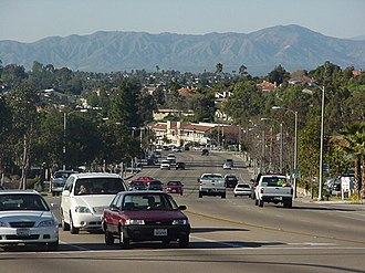 Vista, California - View of South Santa Fe