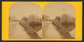 View of road next to body of water at Hopkinton, from Robert N. Dennis collection of stereoscopic views.png