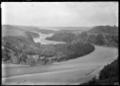 View of the Waimakariri River at Kowai Bush, near Springfield, 1927 ATLIB 299398.png