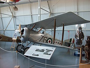 Hanriot HD.1 - A Macchi built HD.1 flown by fighter ace Flavio Baracchini