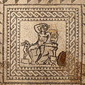Villa Armira - Central Floor Mosaic in the National Historic Museum Sofia PD 2012 37.JPG