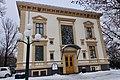Villaen Gunnarsbø (residence of Wilh. Wilhelmsen 1878) Byens rådhus (Town Hall) 1930-1962. Kontorer for Svend Foyns gate 3, Tønsberg kommunale eiendom. Winter. Svend Foyns gate 3, Tønsberg, Norway 2019-01-30.jpg
