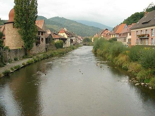 Village et rivière (Thann)