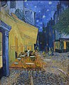 Vincent van Gogh, Café Terrace at Night, 1888. Painting inside the Kroller Muller Museum - panoramio.jpg