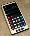 Vintage Commodore Electronic Pocket Calculator, Model GL-979D, Made In Japan, 7 Digit Green VFD, Circa 1975 (14000615008).jpg