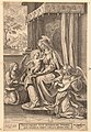 Virgin and Child Enthroned with Two Musical Angels MET DP157125.jpg